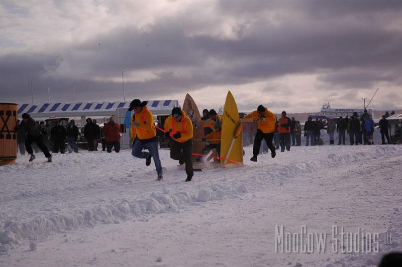 2020 Mackinaw Pepsi International Outhouse Race